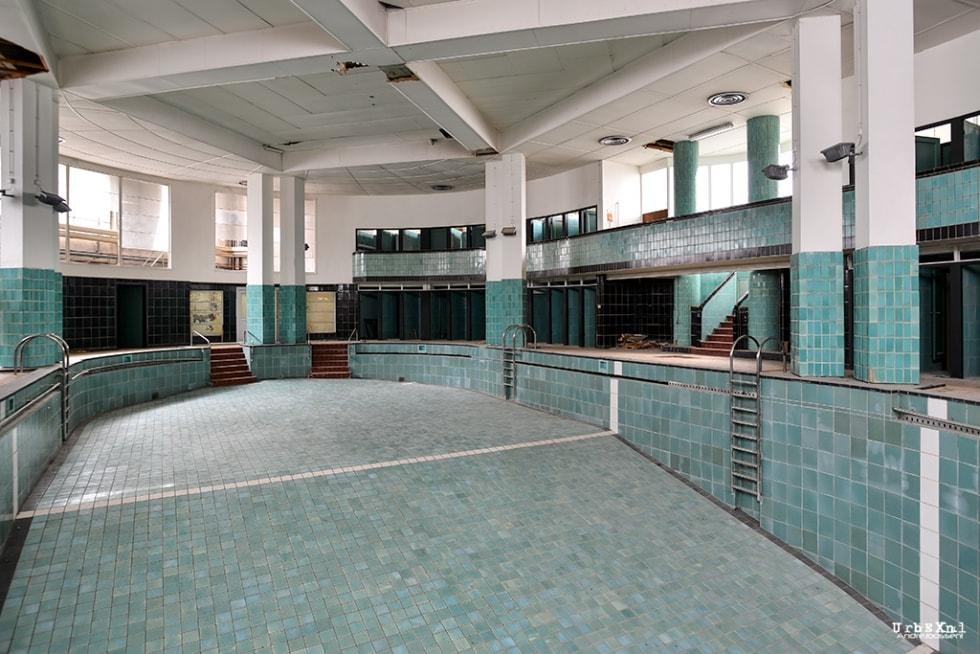 La piscine de l ecole normale jean tousseul urbex for College jean de la mennais piscine