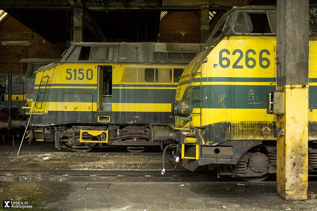 Dépôt de Trains de Roux