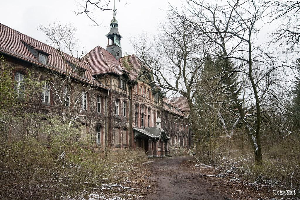 Beelitz-Heilstätten: Männersanatorium
