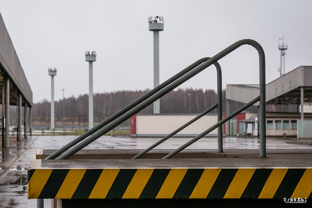Checkpoint Alpha, Grenzübergangsstelle Marienborn