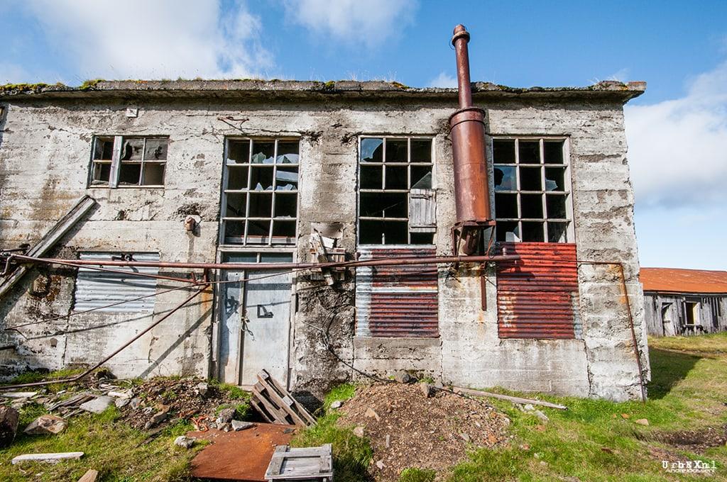 Herring Factory Ingólfsfjörður