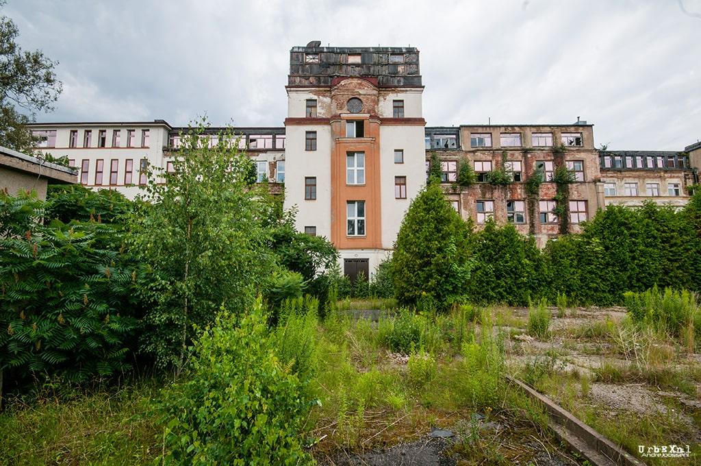 Bezirkskrankenhaus - Klinik Stadtpark
