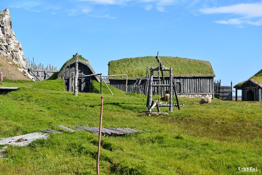 The Viking Film Set