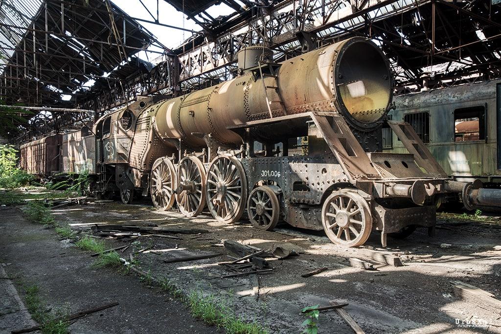 Red Star Train Graveyard
