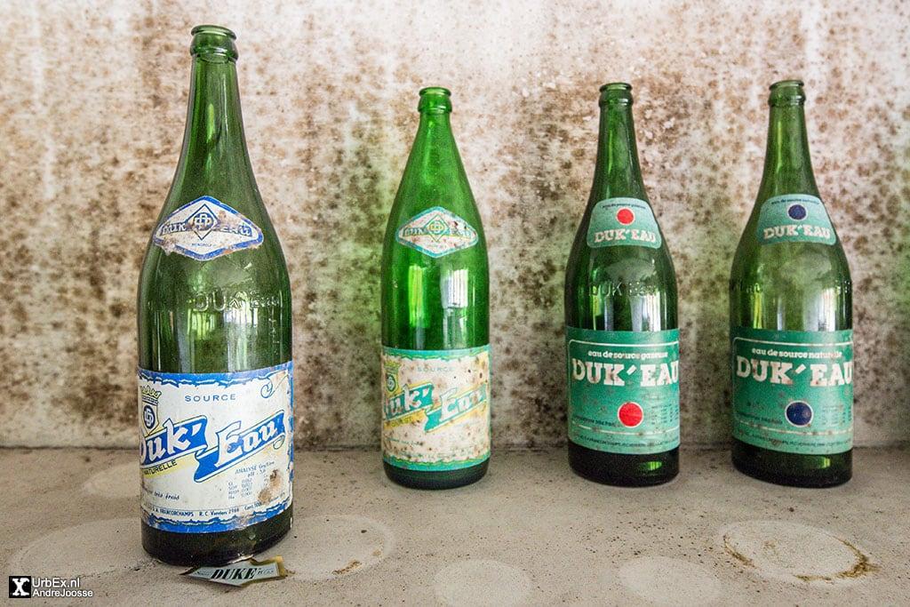 Duk'Eau bottled mineral water