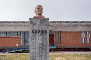 Lenin at Pyramiden Cultural Palace