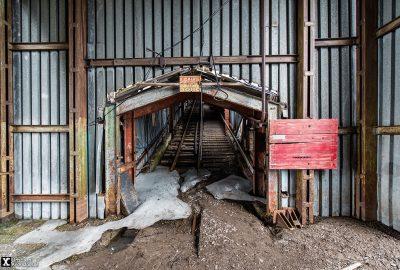 Pyramiden coal mine
