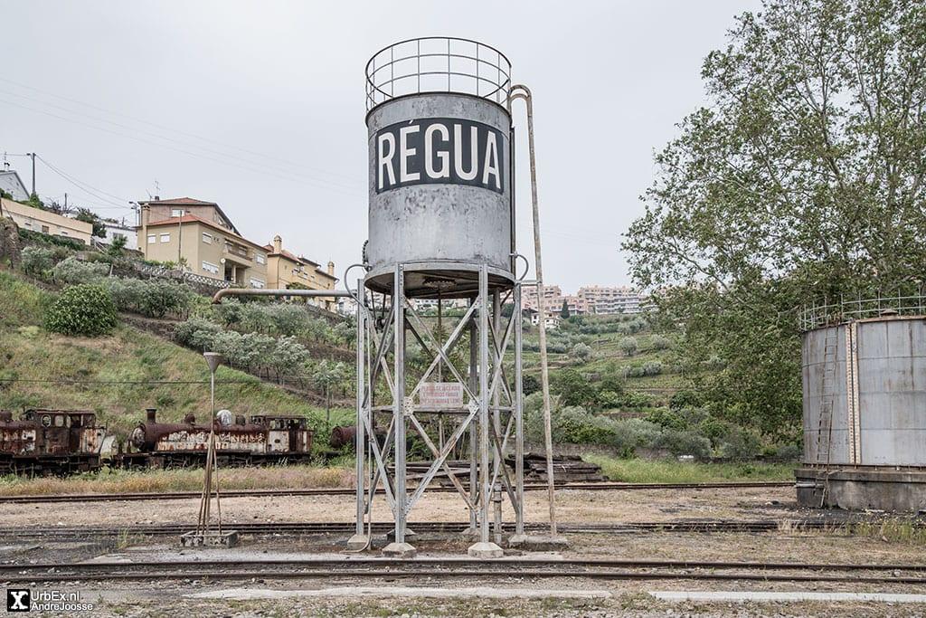Régua Station on the Douro Line