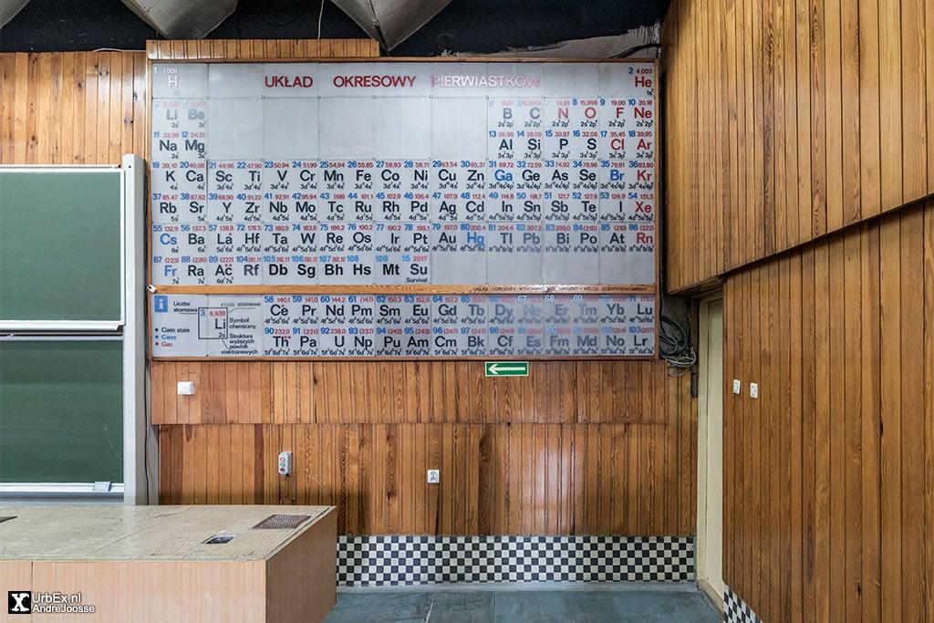 Audytorium Wydziału Chemii