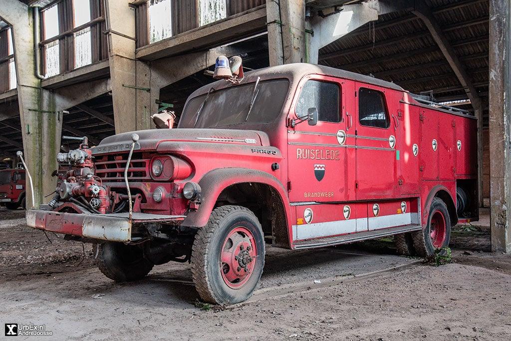 Brandweerwagen Depot Gent