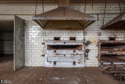 Brotfabrik und Lager Militärhandel